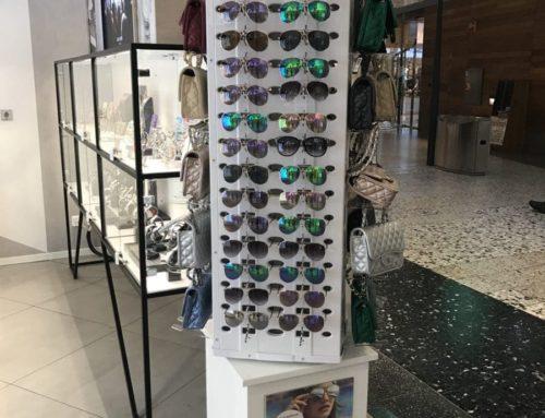 Golvställ för glasögon